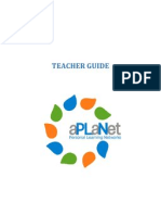 aPLaNet Teacher Guide