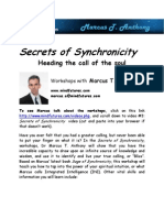 Marcus T. Anthony- Secrets of Synchronicity