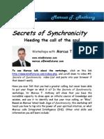 Marcus T. Anthony- Secrets of Synchronicity