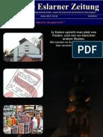 Die Erste Eslarner Zeitung, Ausgabe 01.2012