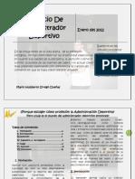 El Oficio de Administrador Deportivo-mario Urrego-08!01!12