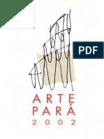 Catálogo Arte Pará 2002