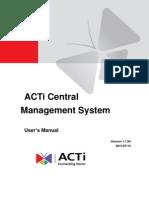 ACTi CMS Manual v1.1.04