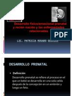 Desarrolo Prenatal y Enfermedades