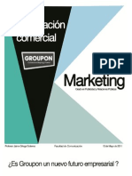 Investigación comercial sobre Groupon