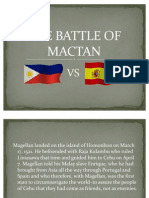 The Battle of Mactan