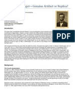 Booth Deringer FBI Report
