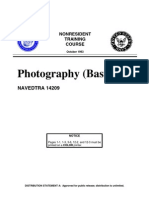US Navy Course NAVEDTRA 14209 - Photography Basic