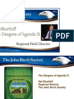Agenda 21 Slide Deck by Hal Shurtleff
