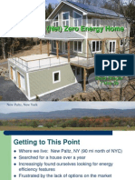 Building a Zero Energy Home