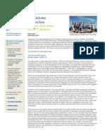 Deloitte Newsletter_November 2011