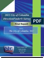 Columbia Satisfaction Survey