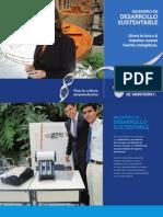 Folleto de la Carrera de Ing. en Desarrollo Sustentable (IDS11)