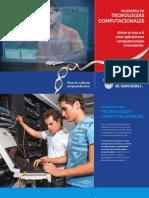 Folleto de la Carrera de Ing. en Tecnologías Computacionales (ITC11)