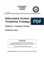 US Navy Course NAVEDTRA 14223 - Information Systems Technician Training Series Module 2—Computer Systems