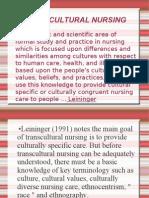 Trans Cultural Nursing 1