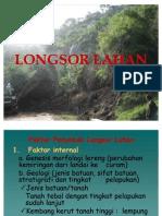 7. Longsor Lahan