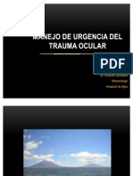 Trauma Ocular Manejo