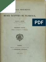 Berend - Principaux monuments du musée egyptien de Florence