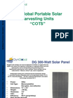 DynGlobal Portable Solar 2012