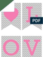 Valentines Banner courtesy of DimplePrints