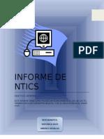 INFORME DE NTICS