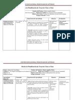 FORMATO PLANIFICACION CLASE 6° Tec.