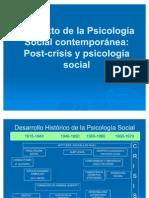 Contexto de la Psicología Social contemporánea 2011 - Sociología