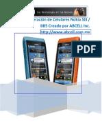 Guia de Liberacion por Software de Celulares Nokia C3 de la Series SL3 / BB5