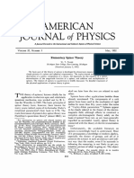 [Article] Elementary Spinors Theory
