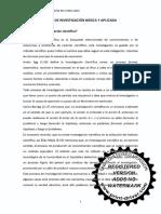 Lectura Tipos de Investigación Básica y Aplicada