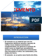 El Cemento Diapositivas Firme