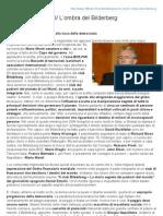 GOVERNO MONTI - L'ombra del gruppo Bilderberg