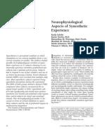 Kolja Schiltz et al- Neurophysiological Aspects of Synesthetic Experience