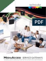 Technicolor Media Access Service Gateway