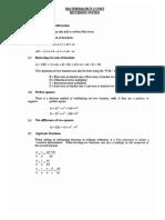 2 Unit Study Notes