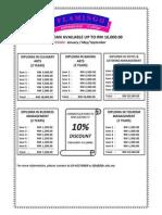 Course Fees Summary- New