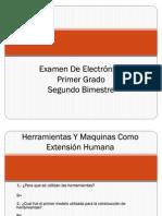 Examen De Electrónica