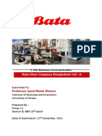 Bata Bangladesh_A Business Review_Group#11