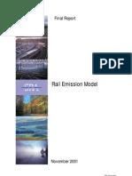 Rail Emission Model