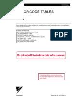 JRC Errorcode