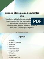 GED - Gerência Eletrônica de Documentos