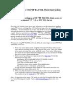 FTP TLS-SSL Instructions - Client