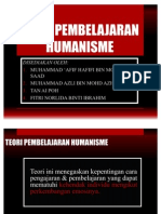 Teori Pembelajaran Humanisme Our Group