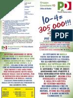 Volantino Consiliare PD 01-2012