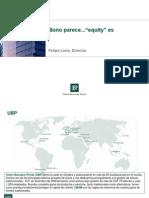 EFPA Bonos Convertibles Marzo 2010