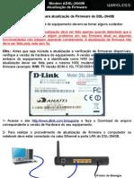 D-Link DSL-2640B - Atualização de Firmware (Tutorial)
