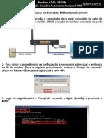 D-Link DSL-2640B - Habilitando o DNS Automático (Tutorial)