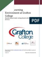Moodle at Grafton College UK v 1.1 Student