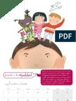 Calendario derechos del niño